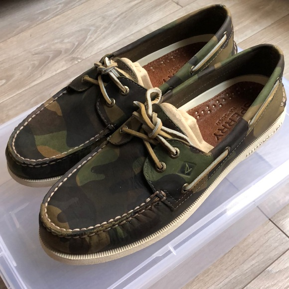 Sperry Shoes | Nwot Sperry Camo Boat